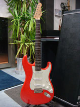 J.W.Black Guitars JWB-S Fiesta Red #187