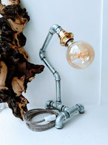 Wasserrohrlampe gold