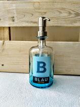 Seifenspender Blau Gin