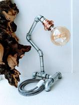 Wasserrohrlampe kupfer