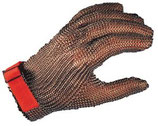 Guanto maglia inox 5 dita