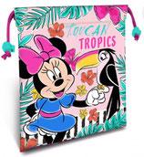 Turnsackerl klein Minnie Mouse mit Vogel
