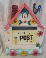 """Postkasten """"Hahn am Dach"""""""