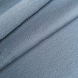 Bio ~ Jersey ~ Meterware ~ blau ~ Luft ~ ab 25 cm