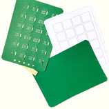 Bastelset Adventskalender*A4 grün, hoch