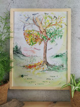 "Kinderkalender ""zarte Farben"""