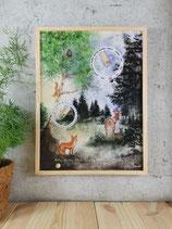 "Ewiger Kalender ""Waldgefühl"""