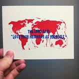"Postcard ""Love your Neighbor"""