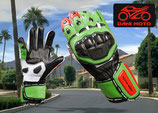Racing Handschuh GP - schwarz grün