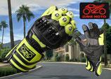 Racing Handschuh GP - neongrün schwarz