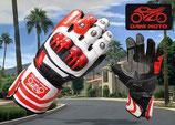 Racing Handschuh GP - rot weiß schwarz