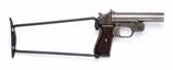 Klappschaft Anschlagschaft Schulterstütze für Polizei-Signalpistole / Reizstoffpistole DIANA  oder HECKLER & KOCH
