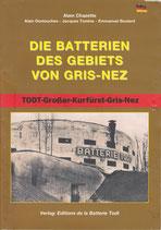 """Broschüre """"Die Batterien des Gebiets von Gris Nez"""""""