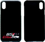 RS4 Smartphone Case ECHT CARBON - black glossy - zweifärbiger 3D DRUCK