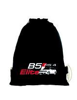 RS4 GymBag - black - zweifärbiger DRUCK