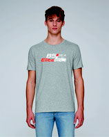 RS4 B5 Elite T-Shirt - heater grey - zweifärbiger DRUCK