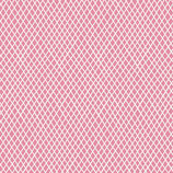 TILDA crisscross pink - Old Rose