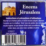 Encens naturel en grains Jérusalem boite 50gr Ref: 17017JER