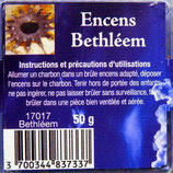 Encens naturel en grains Béthléem boite 50gr Ref: 17017BET