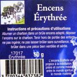 Encens naturel en grains Erythrée boite 50gr Ref 17017ERY