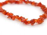Bracelet Cornaline chips Ref: 1165