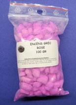 Encens naturelle Grec en grains Rose sachet de 40gr Ref17011ROS