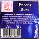 Encens naturel en grains Rose boite 50gr Ref: 17017ROSE