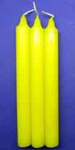 Bougies pour rituels jaunes Ref:17821J