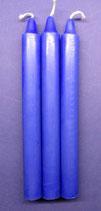Bougies pour rituels bleu Ref:17821B