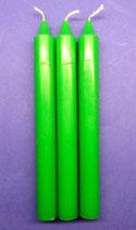Bougies pour rituels verte Ref:17821V
