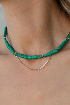 Malachite Stick Necklace