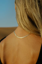 Snake Necklace gold / silver