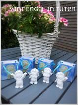 4 Mini Engel in Geschenktütchen