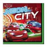 Cars Neon Servietten