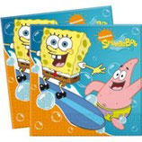 SpongeBob Surf Servietten