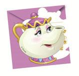 Disney Princess Belle Einladungskarten