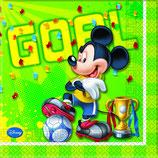Mickey Mouse Goal Servietten