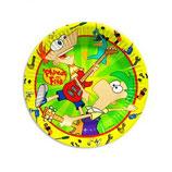 Phineas & Ferb kleine Partyteller