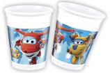 Super Wings Partybecher