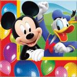 Mickey Mouse Ballons Servietten
