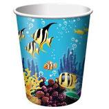 Unterwasser Partybecher