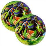 Ninja Turtles kleine Partyteller
