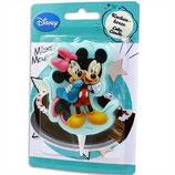 Mickey und Minnie Kuchenkerze