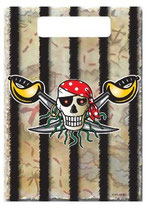 Piraten Roter Pirat Partytüten