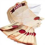 Ritter Einladungskarten