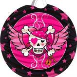 Piraten Girl Lampion