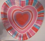 Herz kleine Teller