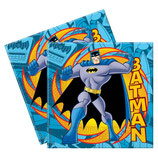 Batman Superhero Servietten