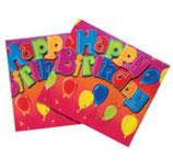 Happy Birthday Tischdecke
