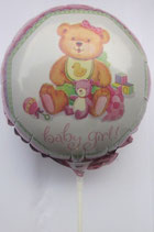 Baby Girl Extra Mini Folienballon